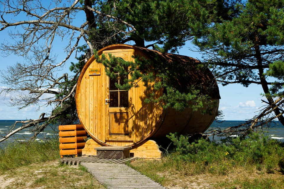 """Image of sauna for UK Saunas article """"15 Sauna Tips to Revolutionise Your Sessions"""""""