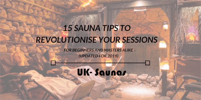 Header image for this article on sauna tips.